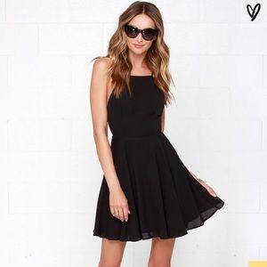 Lulus Strappy Black Dress